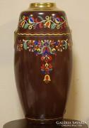 Szecessziós porcelán váza 38 cm