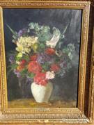 Belányi Viktor / Színes virágcsendélet
