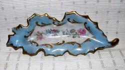 Sevres porcelán levél forma tál