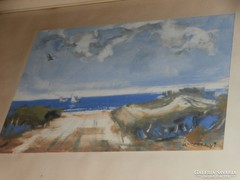Sándorfalvi Sándor kortárs festő /1914-2009/