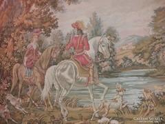 Gobelin fali kép nagy méretben (gépi)