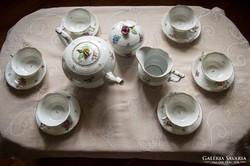 Herendi Viktória 6 személyes teás készlet