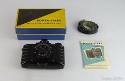 0L477 Régi POUVA START fényképezőgép dobozában