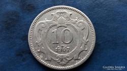 10 heller, 1907 !!