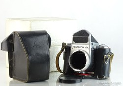 0L299 Pentacon Six analóg fényképezőgép tokjában