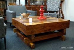 Tölgyfa dohányzóasztal