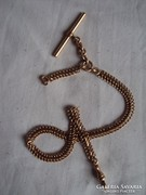Aranyozott Zsebóra lánc,nagyon szép