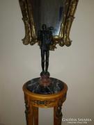 Érdekes bronz szobor: Somogyi József