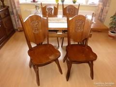 Flamand asztal, 4 db. szék.