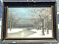 Mille Téli tájkép