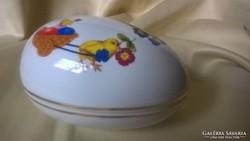 Hollóházi Porcelán tojás Bonbonier