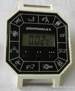 ELEKTRONIKA 8-5 ÓRIÁSI Szovjet Digitális Horoszkópos Óra!!!