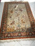 Szőnyeg Iráni vadászjelenetes 180x120 cm