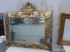 """Antik """" florentin"""" tükör."""