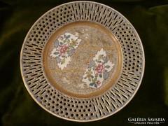 Cubach antik herendi áttört tányér