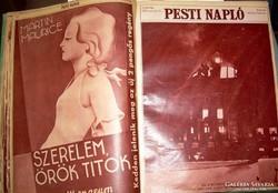 Pesti Napló képes mellékletei 1933 kötve