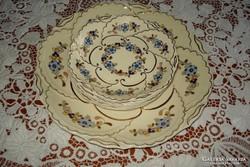 Zsolnay 6+1 sz. süteményes készlet