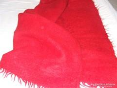 Régi piros takaró ,cserge,ágytakaró