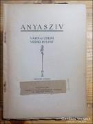 Várnai Zseni : Anyaszív  1919