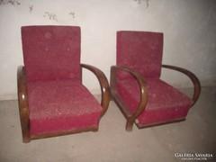 Art -Deco fotelek párban