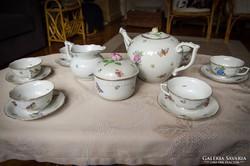 Herendi teás- és süteményes készlet (együtt)