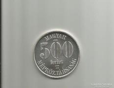 Labdarúgó EB '88 NSZK, EZÜST 500 Ft,1988