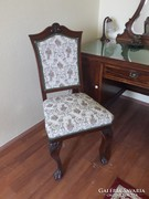 Barokk támlás szék