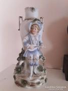 Nagyon régi Grafenthal porcelán váza RITKASÁG
