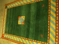 Szőnyeg , Gabbeh, újszerű,  gyapjú, kézi, 170x240 cm