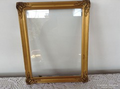 Blondel üvegezett képkeret falc:18x22,5 cm