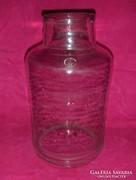 Antik 10 literes befőttes dunsztos üveg (pi-1)