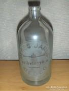 Régi feliratos szódásüveg 0,5 literes BEDEG (5)