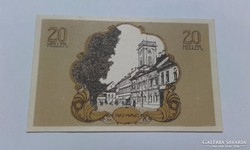 20 Heller 1920-as szükségpénz UNC!