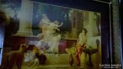 2 db különlegesen ritka  XIX. századi L.Crosio litográfia