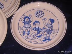LEÁRAZVA! 6 db. ritka Gránit tányér darabra