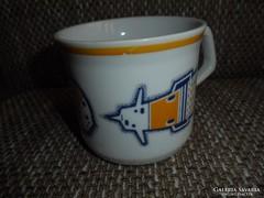Zsolnay porcelán gyerek csésze