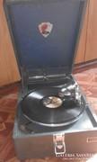 Hordozható gramofon