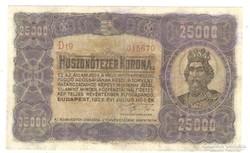 25000 korona 1923 I.