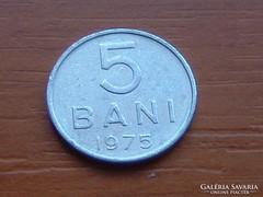 ROMÁNIA 5 BANI 1975
