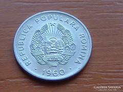 ROMÁNIA 15 BANI 1960 POPULARA ROMINA