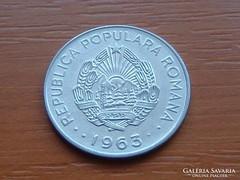 ROMÁNIA 1 LEU 1963 R.P.R