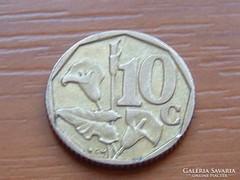 DÉL-AFRIKA 10 CENT 1996 VIRÁG
