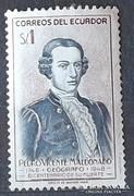 Correos De Ecuador bélyeg
