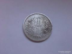 1894 ezüst 1 korona,szép db