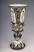 Gara Arnold art deco váza akt nőalakokkal