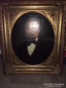 Bieder férfi portré