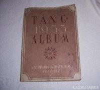 Táncalbum, 1953.