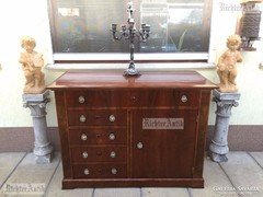 Antik bútor, Biedermeier komód felújított 02.