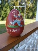 Antik bakelit tojás, szétnyitható