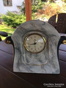 Régi Olasz porcelán kandalló óra 24×26 cm.